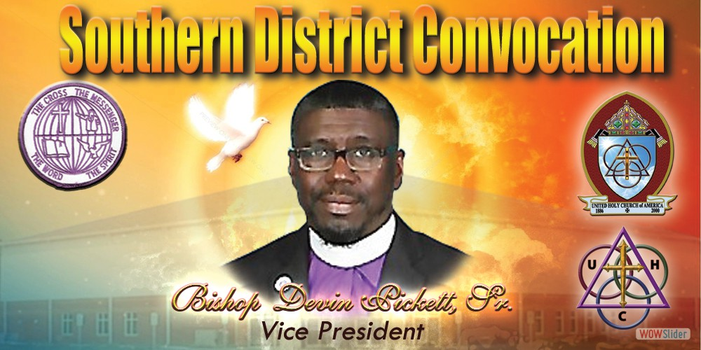 2018 Slider Bishop Elect Pickett